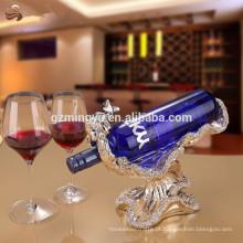 Decoração de decoração de estátua decorativa de luxo de classe alta artesanato de vinho tinto para decoração de casa