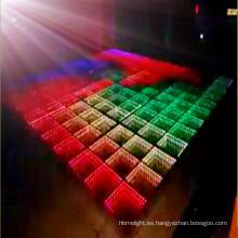 Pista de baile LED 3D al aire libre