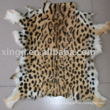 Goat Fur Skin Printed Color