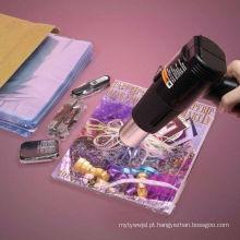 Sacos lisos de psiquiatra do calor do cloreto de Polyvinyl do produto comestível para compartimentos e todos os artigos que envolvem com o GV aprovado (XFB05)