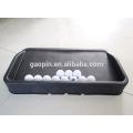 Großverkauf der fabrik Gummi Golf Ball Tray