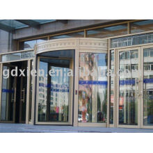 3-4 wings automatic revolving door system