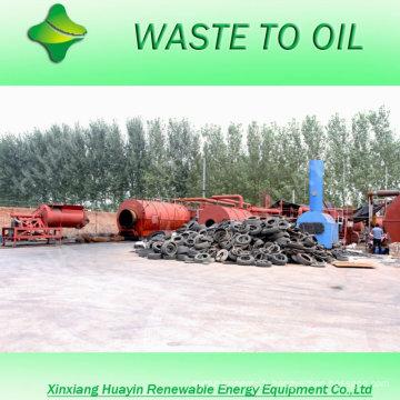 Facilement Sellig dans le marché 5 / 10T ferraille / déchets en plastique / pneu au diesel et à l'essence avec une huile de bonne qualité