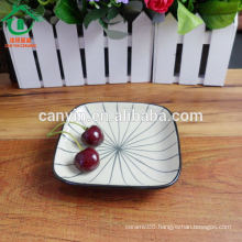 ceramic food platter for hotel