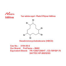 Hexabromocyclododecane HBCD Flame Retardant