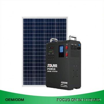 Sistema de gerador home das energias solares de 1500 W mini para o ônibus da casa