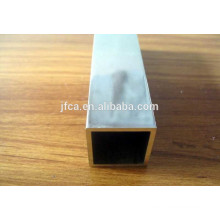 2000 series aluminum hollow tube in square shape customized size