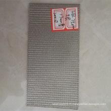 Grillage en acier inoxydable fritté pour disque de filtre