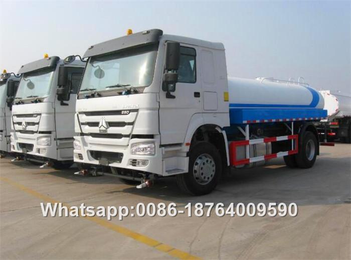Inox Water Tank Truck