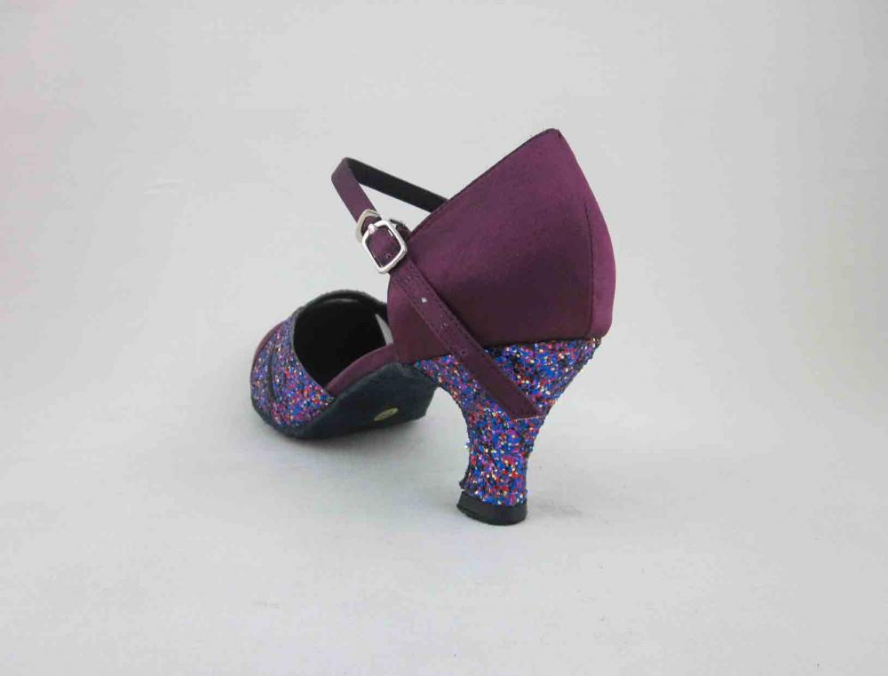 Womens Purple Ballroom Dance Shoes