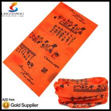 bandana de alta qualidade multifuncional em tubo sem costura bandana em tubo de crânio e pescoço