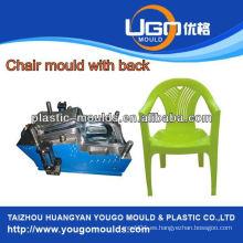 China inyección de plástico fabricante de moldes de plástico de alta calidad de molde de silla de fábrica