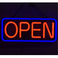 Neon Open Shop Sign LED till salu