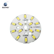 пользовательские 94vo схема алюминиевая доска PCB&pcba для светодиодные лампы