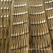 Stainless Steel Rope Net (MWN-SSRN), Customized Widths and Lengths are Accepted