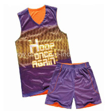 Uniforme de basket-ball 2013 Oem avec un nouveau Design de Mens