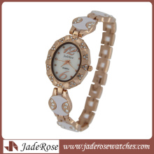 Rosegold Elegant Mop Dial Lady Quartz Watch