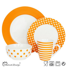 16PCS Porcelaine Céramique Dinner Set Fabrication
