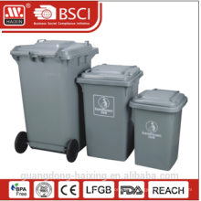 Общественности высококачественной пластиковая мусорная мусор с колесом