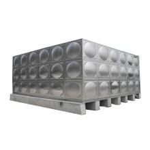 Structures en acier inoxydable avec réservoirs d'eau