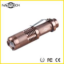 CREE LED telescópico Zoom Alumnium linterna (NK-628)