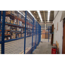 Steel Triangular Folding  Wire Netting Fence For Production Room And Storage Room