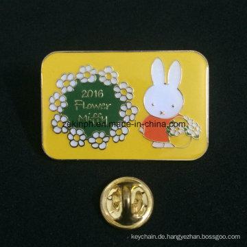 Kundenspezifischer Name Round Pin Badge