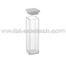 T-BOTA 10mm Innenbreite Beliebte Q-204 Standard Fluorometer Zelle mit Deckel