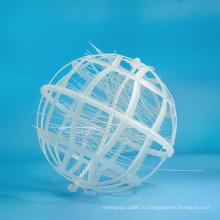 пластичная био шар с хлопком для переработки отходов