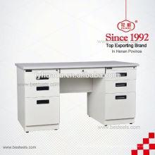 Mesa de mobiliário de escritório criativa tipo aço