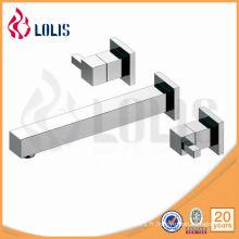 Robinets de lavabos en alliage de zinc à double poignée en alliage de zinc (61316-160A)