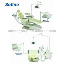 Стоматологический стул (левый и правый стиль) с одобренным CE стоматологическим устройством Hot Sale