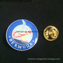 Wholesale Custom Made Metal Name Enamel Pin Badge with Epoxy