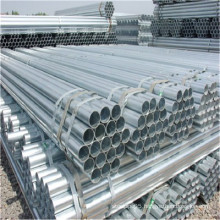 Low price thermal conductivity galvanized round steel pipe