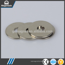 Alibaba china fine quality n42 ring ndfeb magnets