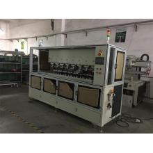 Máquina automática de impresión de 8 etiquetas de color para productos plásticos