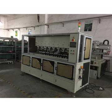 Automatische 8 Farb-Shuttle-Pad-Druckmaschine in Guangdong