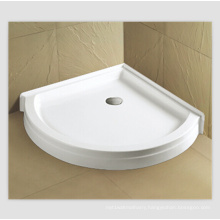 "Cupc 42""X42"" Round Sector Corner Shower Base"