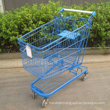 Germany style 130L shopping cart