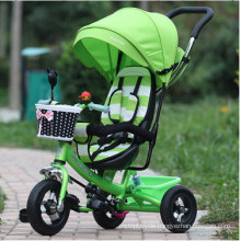 New Arrival 4 in 1 Children Tricycle Kids Baby Trike Tricycle