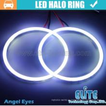 90мм гало кольца cob светодиодный глаза ангела света для автомобиля