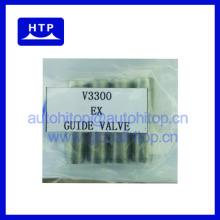 Guide de haute qualité de valve d'air d'admission de pièces de moteur diesel de rechange pour Kubota v3300