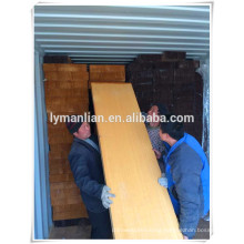 sawn timber in container