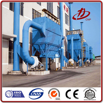 Dust collector machine and baghouse filter