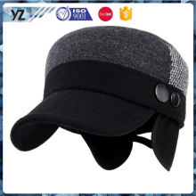 Latest arrival custom design fashion design fleece army cap 2016