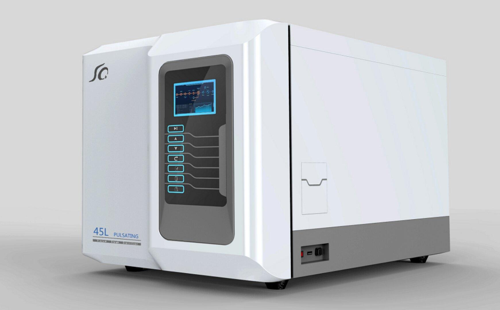 Pulse steam sterilize