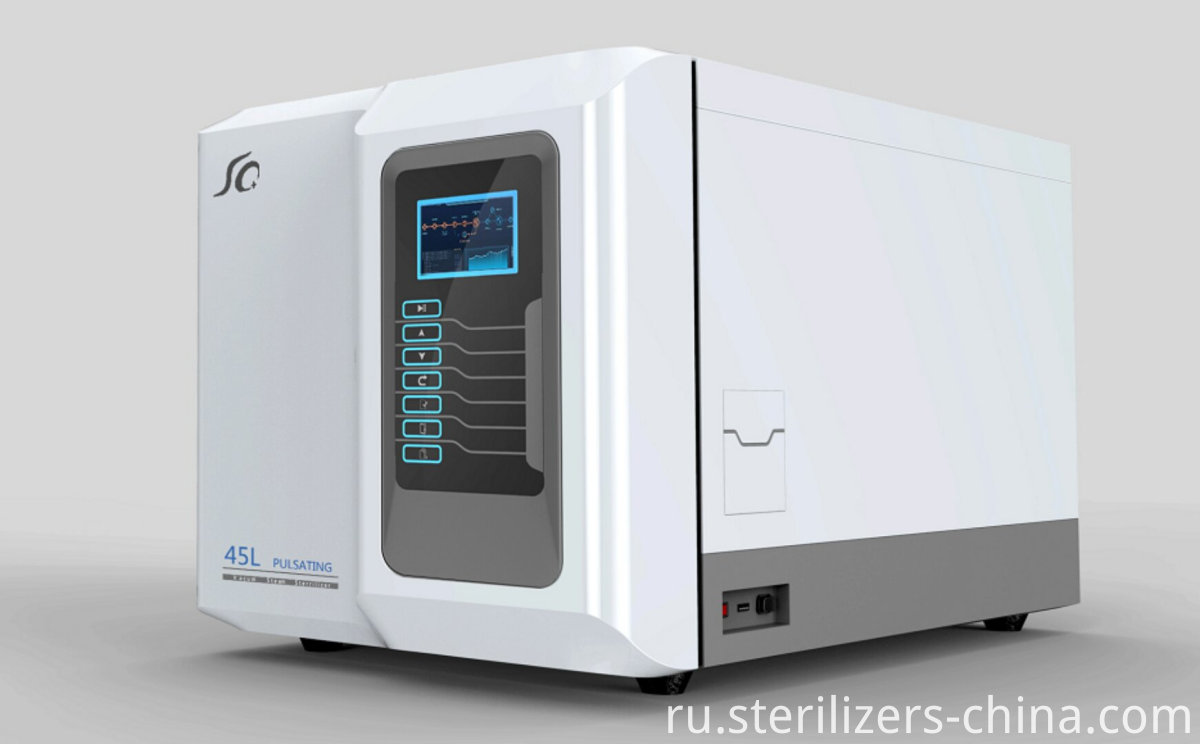 Pulse steam sterilize
