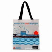 Reusable Nonwoven Shopping bag, Measures 50 x 40 x 8cm, Made of Nonwoven Fabric