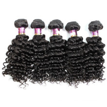 6a Vierge mongole Afro Kinky cheveux bouclés