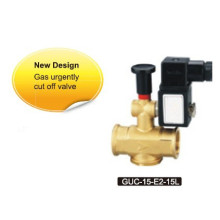 GUC series gas urgent cutting-off solenoid valves